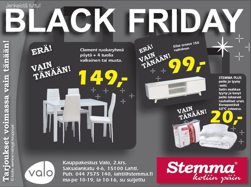 Black Friday stemma