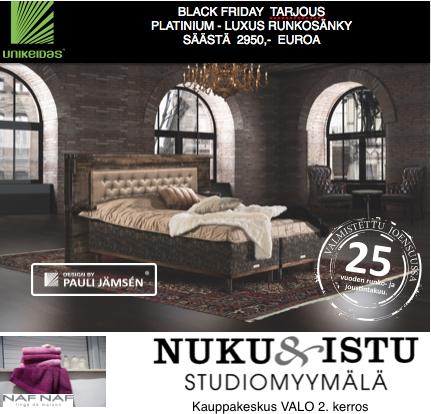 NUKU&ISTU Black Friday
