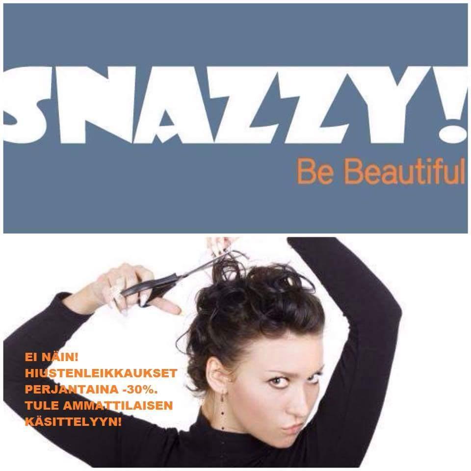 Snazzy mainos1